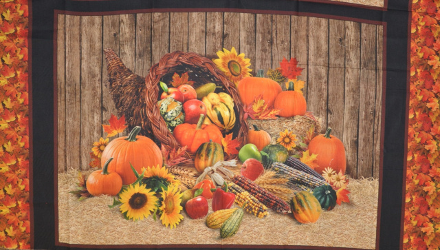 harvest Time Panel from Elizabeth Studios