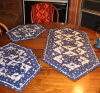 Reverse Triangle Table Runner and Placemats